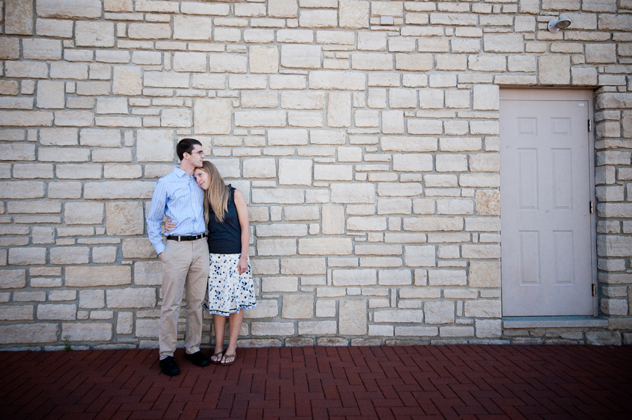 Matt and Jenny Engagement Photos in Cincinnati, Ohio by Bloomington, Indiana Wedding Photographers Tall and Small Photography