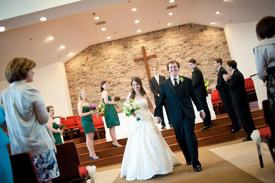 sycamore presbyterian church wedding ceremony