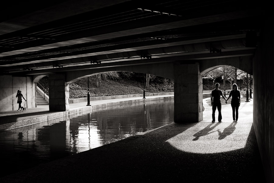 Richmond VA Canal Walk Engagement Photos