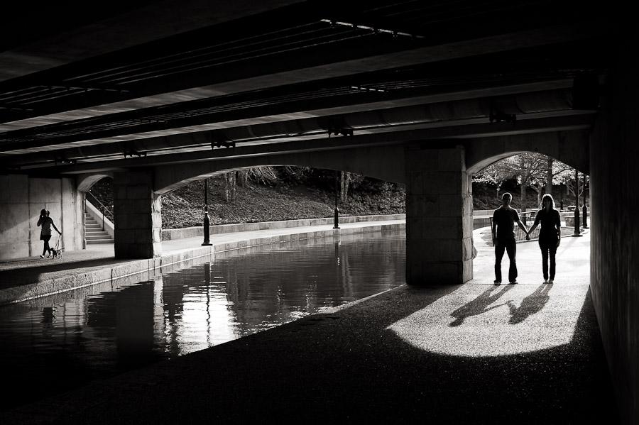 Richmond VA Canal Walk Engagement Photos