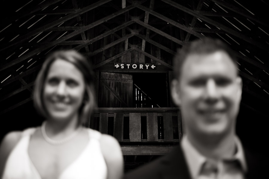 rustic barn at story inn wedding