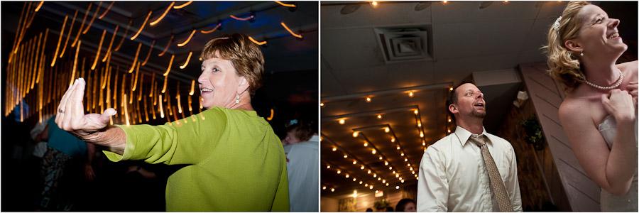 fun dancing photos from reception