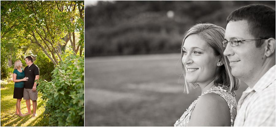 engagement photos at locust grove in louisville
