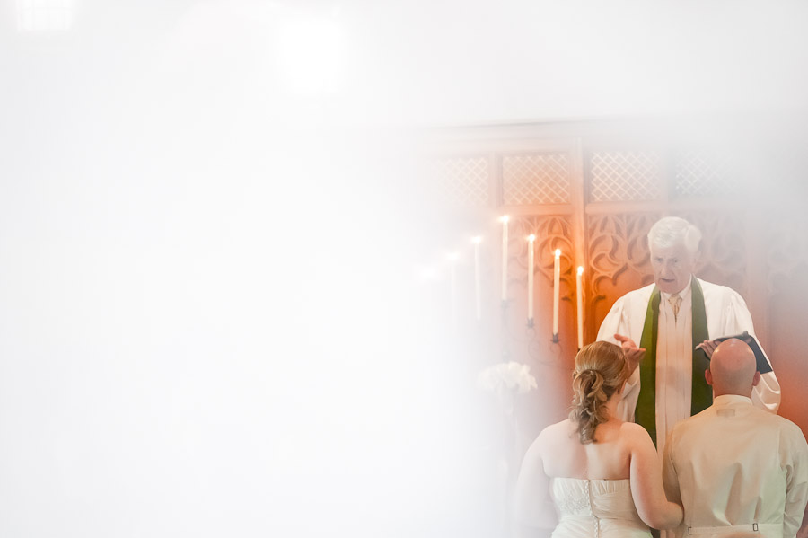 bride and groom at indiana university wedding