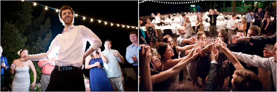 funny wedding reception moments