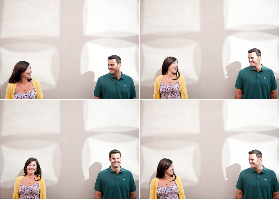 creative and quirky engagement photos
