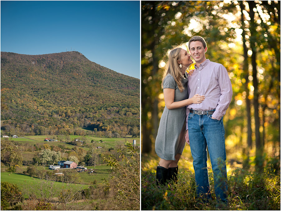 Massanutten Mountain Engagement Photography