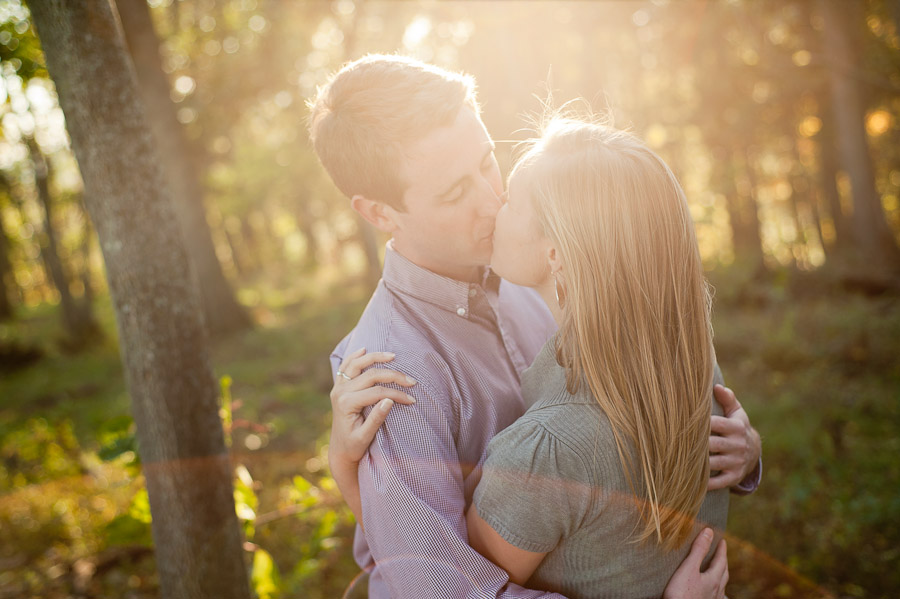 Harrisonburg Virginia Engagement Photo