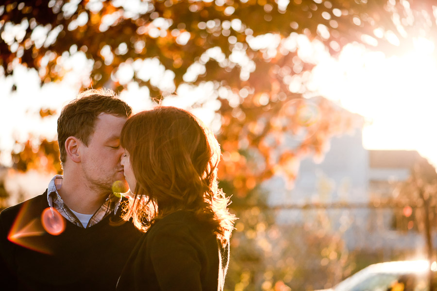 Beautiful Fall Engagement Photos in Louisville