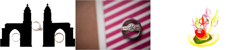 clever ring shots wedding photography