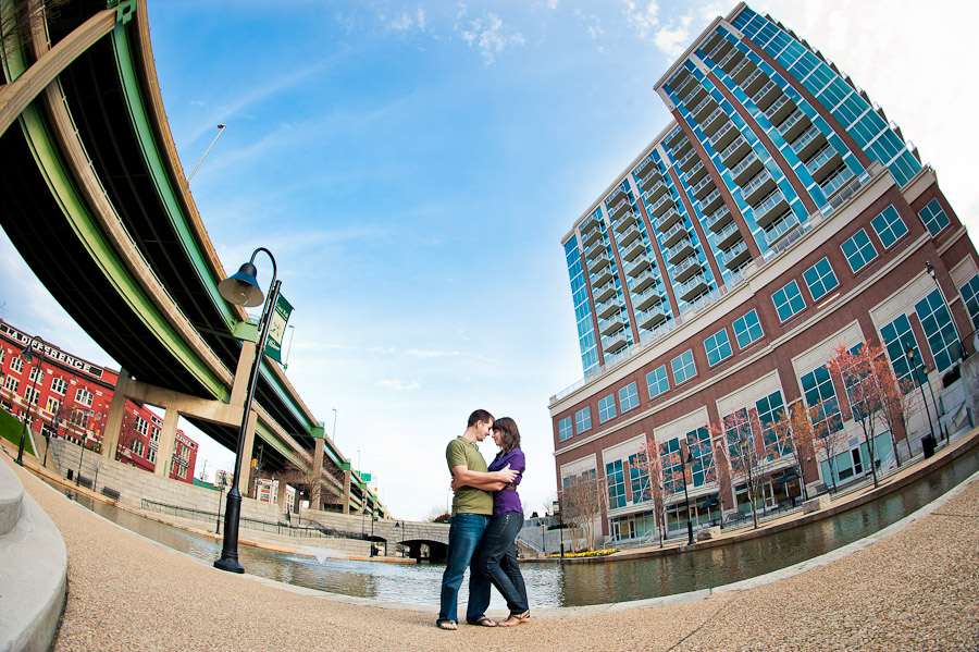 awesome colorful urban engagement photos