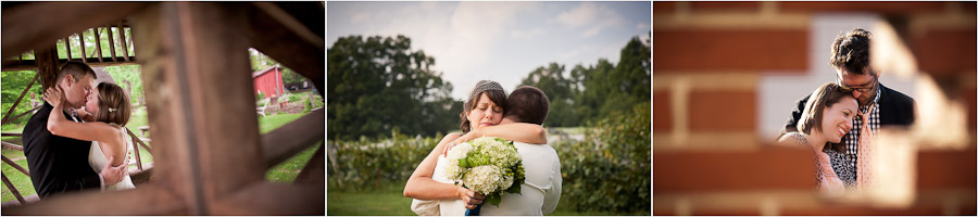 emotional wedding pictures indiana
