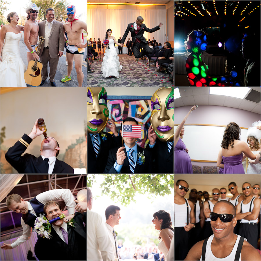 hilarious wedding moments