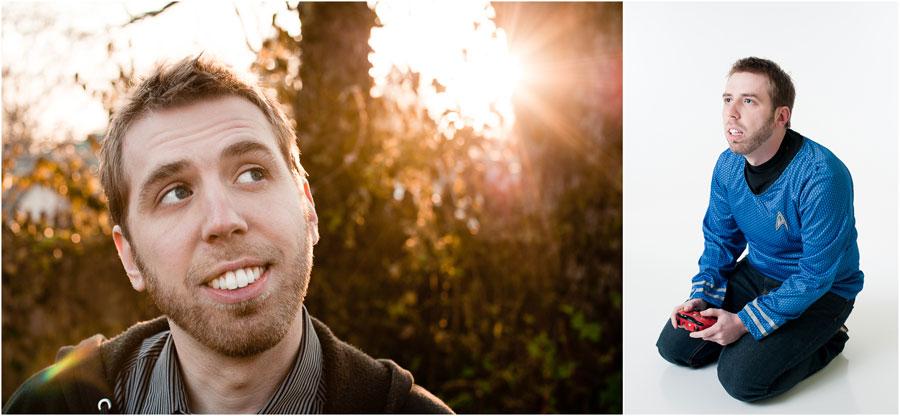 Bloomington Comedian Headshots - Jamison Raymond