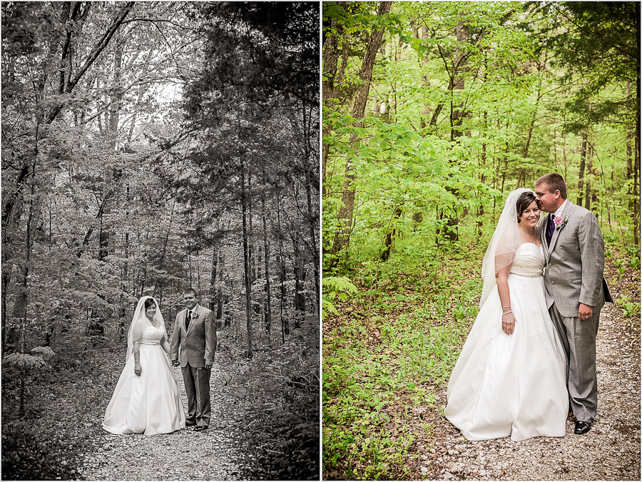Wedding Photos at Spring Mill State Park Indiana