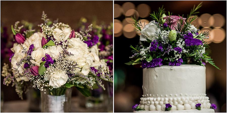 Wedding Reception Details at Spring Mill Inn