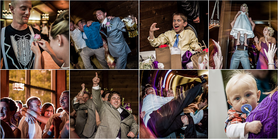 Funny reception moments at wedding