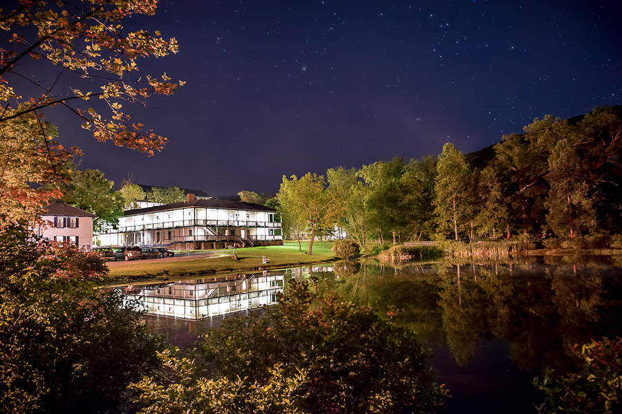 Orkney Springs Virginia Maryland House at Night