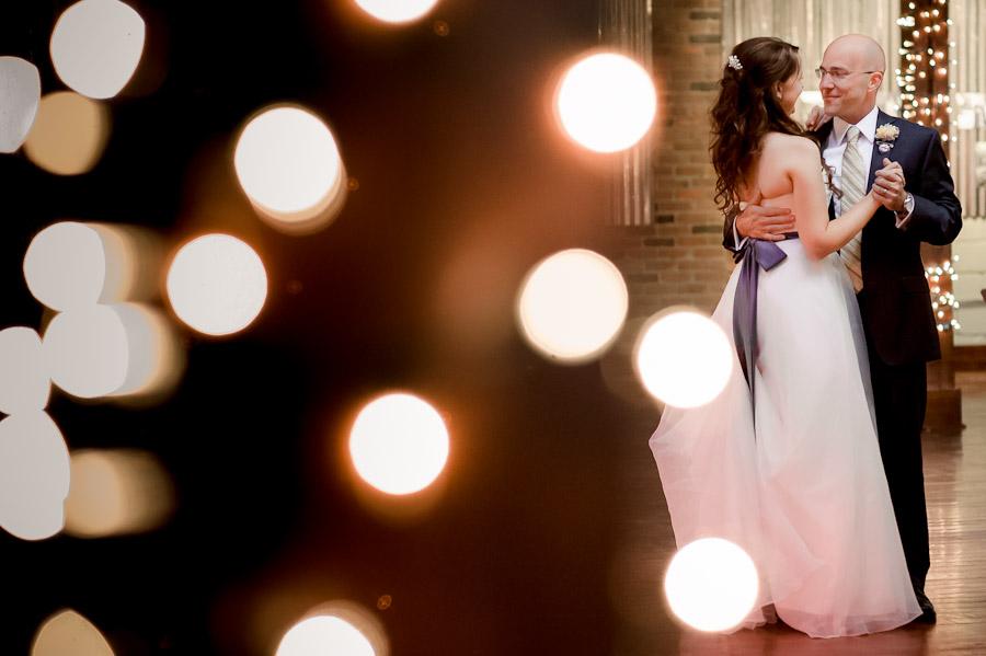 First wedding dance at Factory 12 Event Loft Columbus Indiana