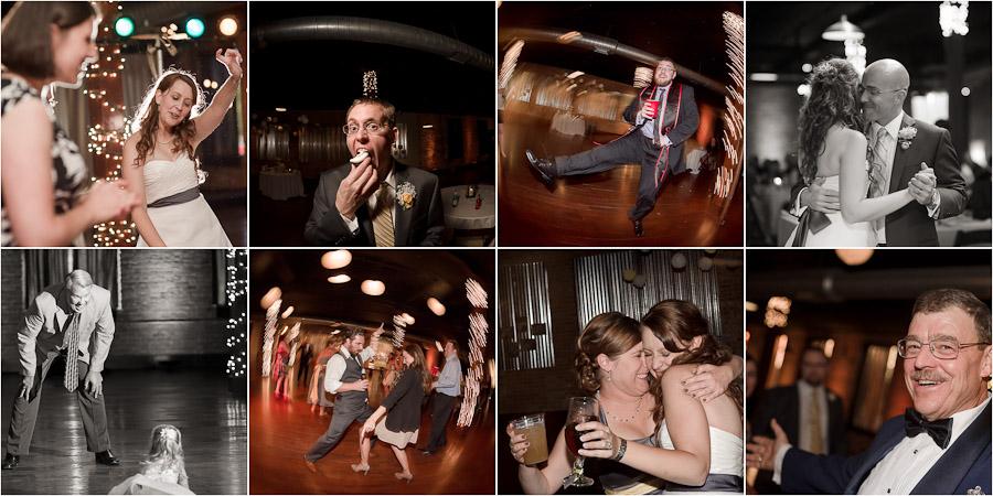 Factory 12 Event Loft Wedding reception dance photos