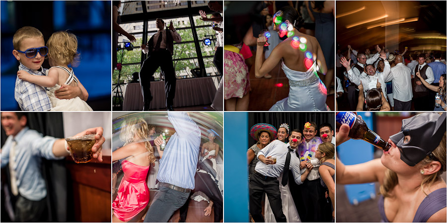 Hilarious wedding dancing moments