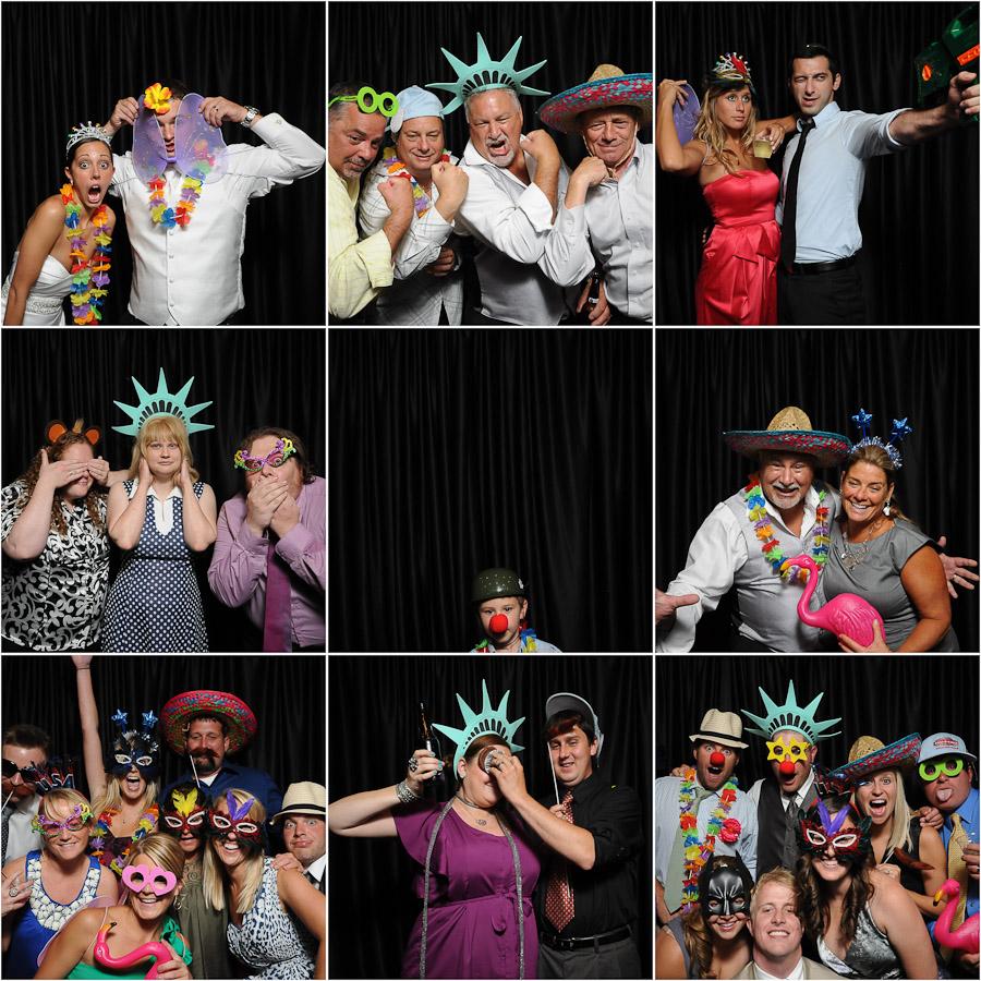 Fun Indianapolis Photobooth at Wedding