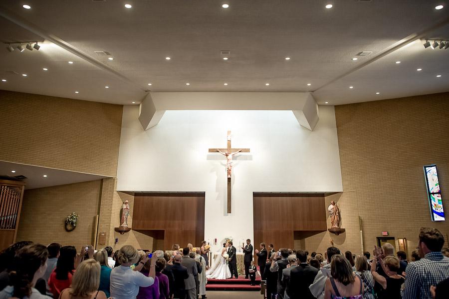 St. Matthew's Catholic Church Wedding Photography, Indianapolis, IN