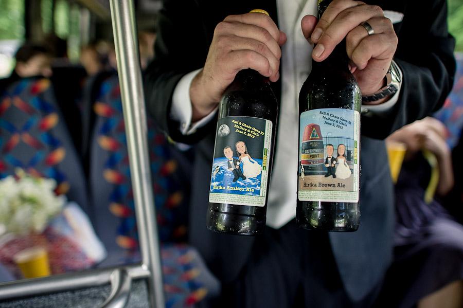 Custom wedding beer!