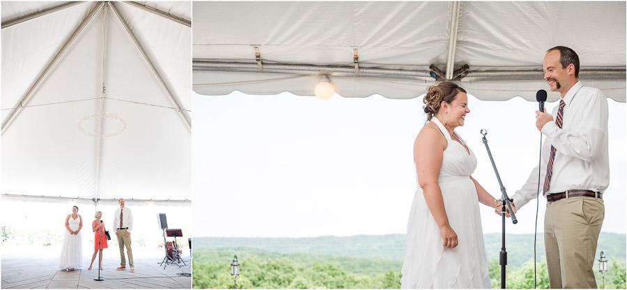 Scenic View Lodge Wedding Ceremony