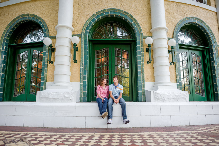 West Baden Springs Hotel Engagement Photos