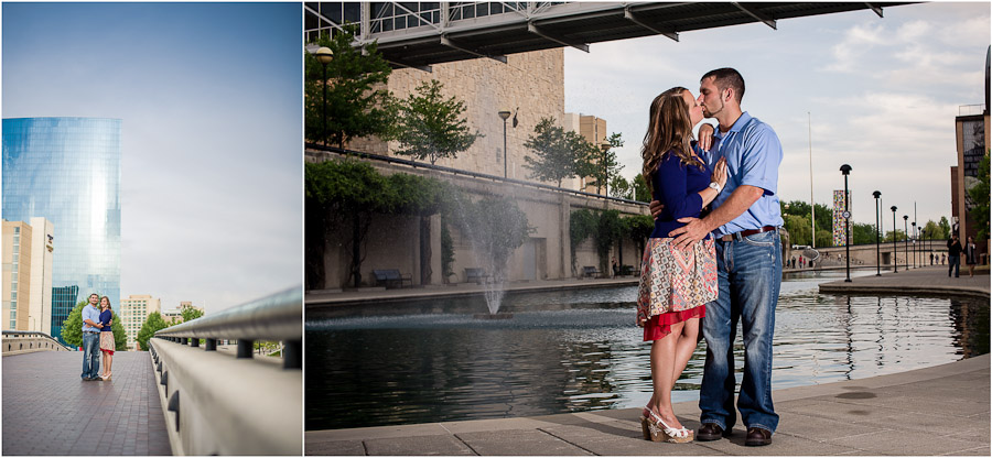 Indianapolis Engagement Photos White River