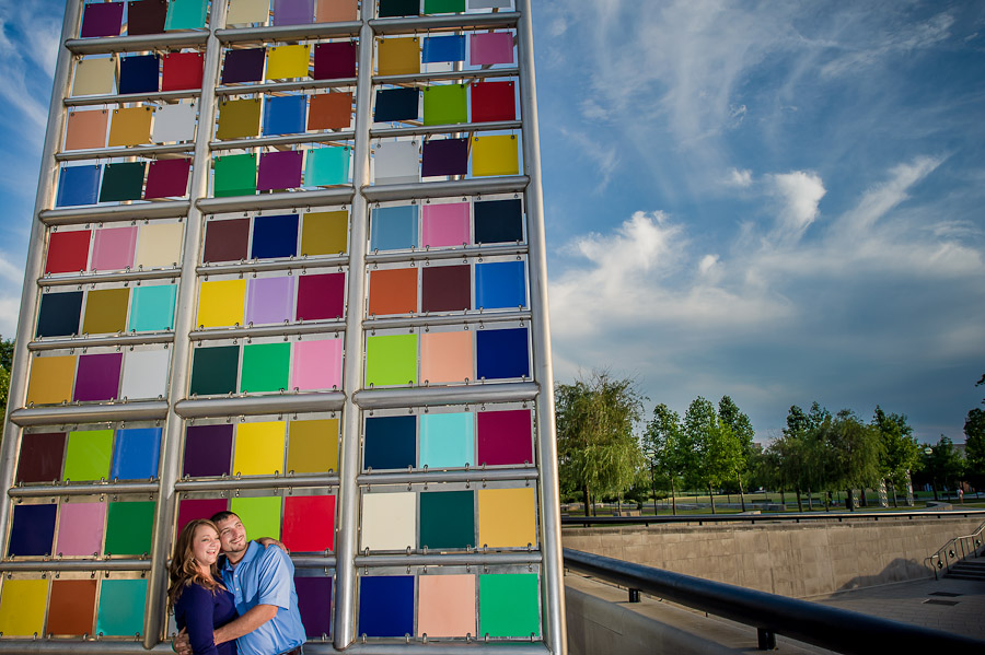 Colorful Engagement Photography Indianapolis Indiana