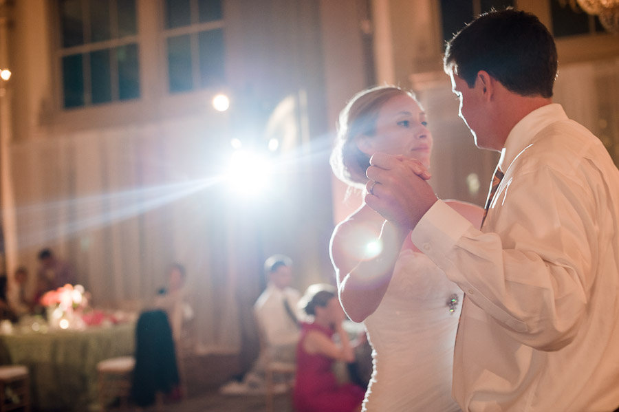 John Marshall Ballroom First Dance Wedding Photos