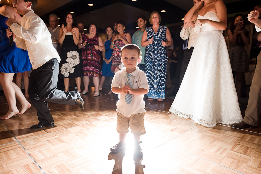 Fun wedding moments with kids