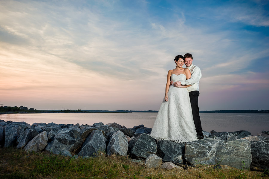Breathtaking Wedding Photos Sunset Virginia