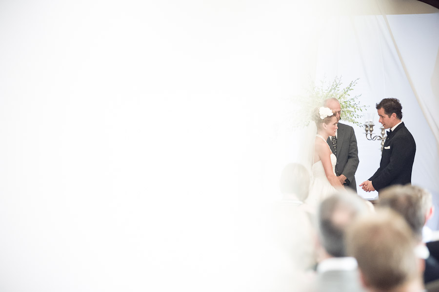 Touching moment in Indianapolis wedding ceremony