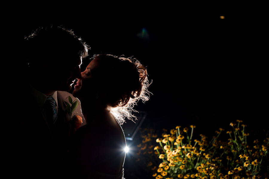 Bloomington Wedding Photographers - Night Portraits