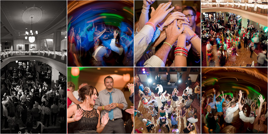 Fun and wild dance floor photos in Indianapolis