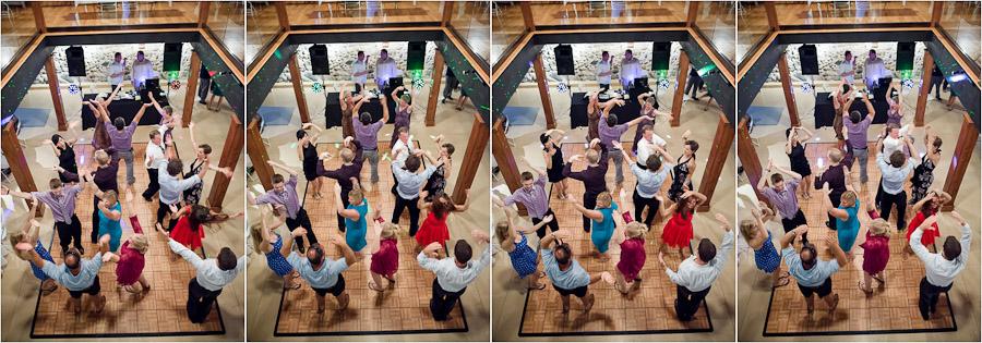 Hilarious YMCA dancing photos on crazy dance floor at wedding in MI