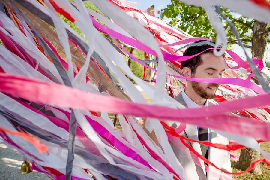 cool wedding streamers