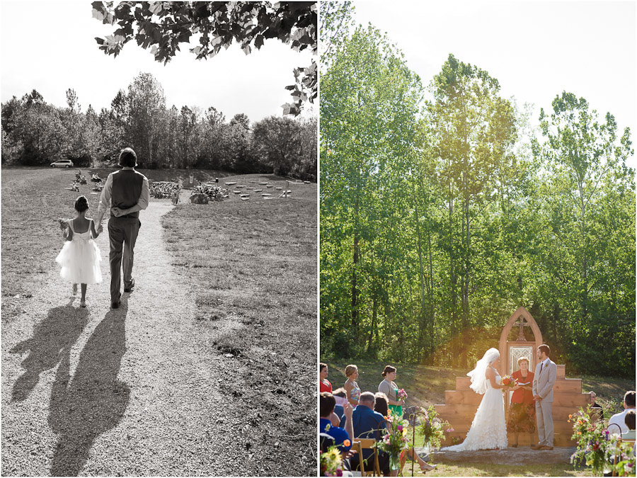 Depauw Nature Center Wedding
