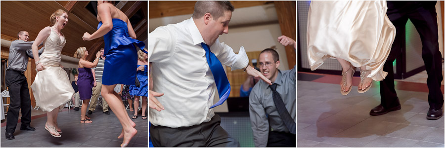funny wedding moments on the dance floor