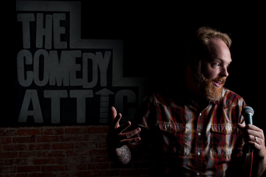 Bloomington Promo and Headshot Photography, Comedians