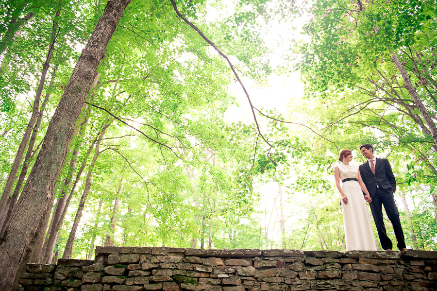 And Sweet Wedding Photography In Brown County Indiana Bright Colorful Quirky Image Of Forest