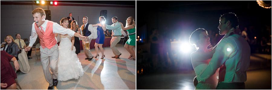 Fun wedding dancing photographs
