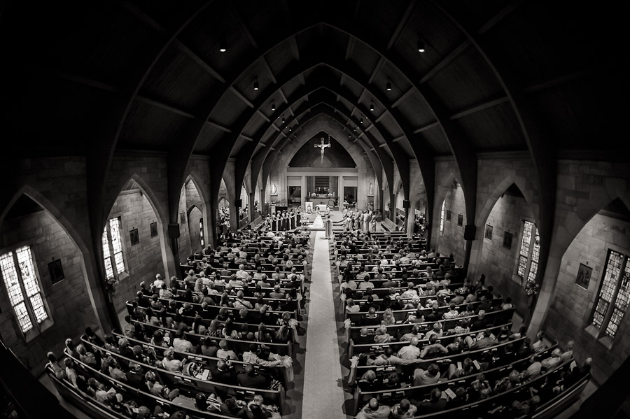 St. Paul's Church Tell City Indiana Wedding