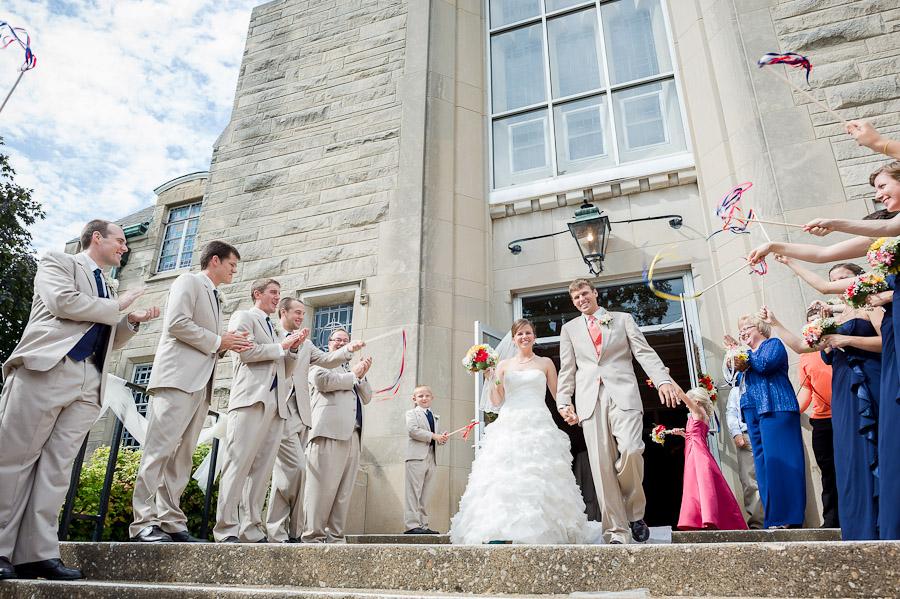 St. Paul's Church Wedding Tell City Indiana