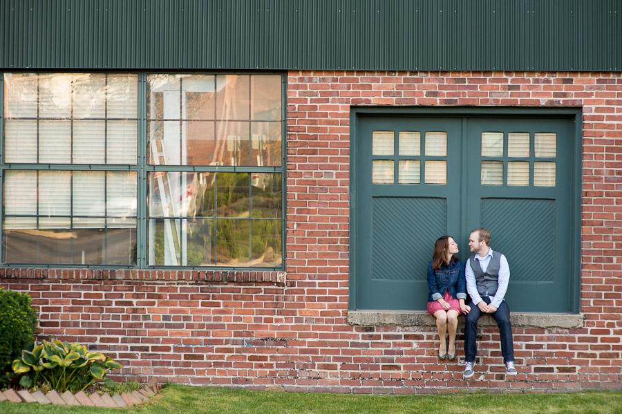 Downtown Bloomington Indiana Engagement Photos