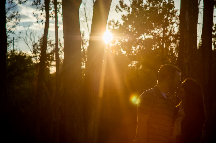 Romantic engagement photography, Bloomington IN