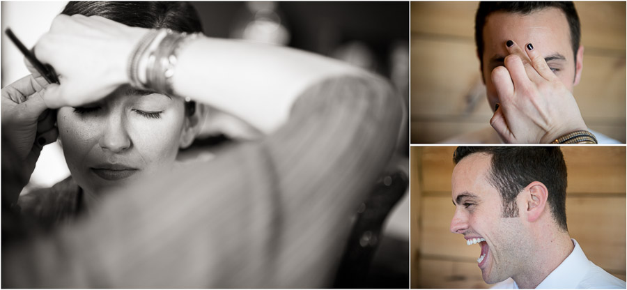 Pre-wedding make up photography in Charlottesville, VA
